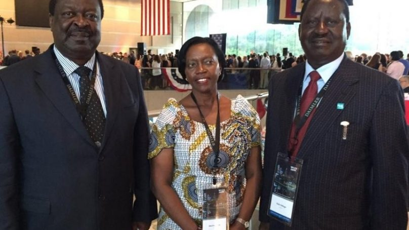 Raila, Mudavadi, Karua in the US, What are they up to?