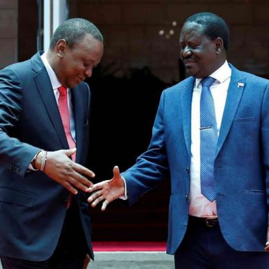 Raila ejects Ruto from State House