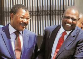 Is Wetang'ula planning to join Team Ruto in 2022?