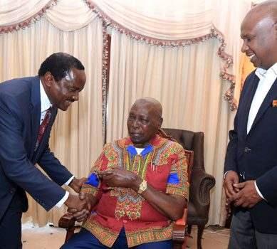 Doctors on standby as Moi mourns  elder son death