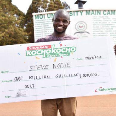 New Moi University student millionaire instant hit