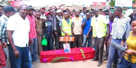 Lunacy as women rep buried in mock funeral
