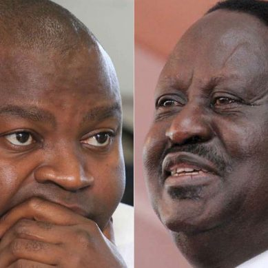 Echesa now tries to reach Raila