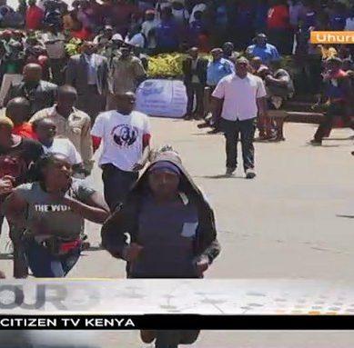 Bitter youth storm Labour Day celebration at Uhuru Park Nairobi calling for revolution