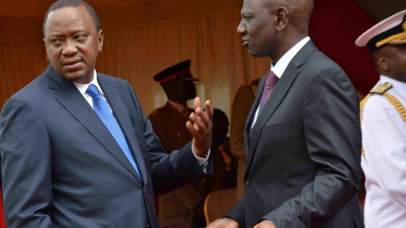 Image result for Verbal wars between Raila and Ruto