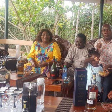 Why Ida Odinga enjoys Black Label whisky
