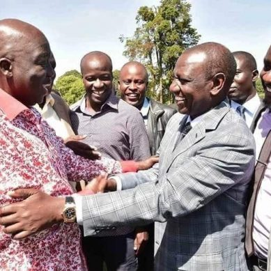 Raila cousin Midiwo in secret talks to join Jubilee