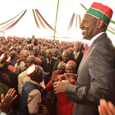 Cornered and isolated, Ruto now turns to religion, comic relief