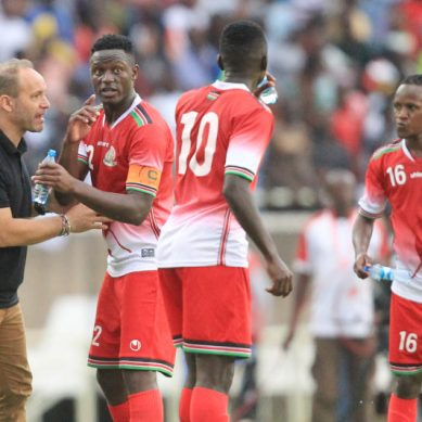 Harambee Stars final AFCON squad named