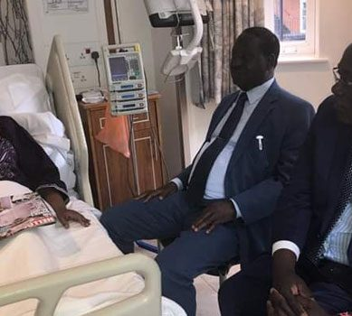 Raila accorded VIP treatment during UK tour
