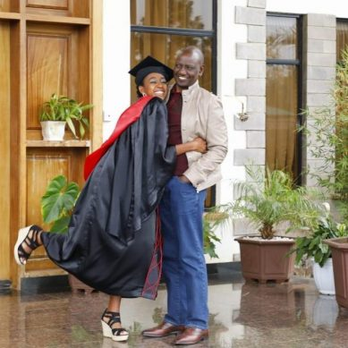 Beauty meets brains as DP Ruto's daughter graduates from Strathmore University