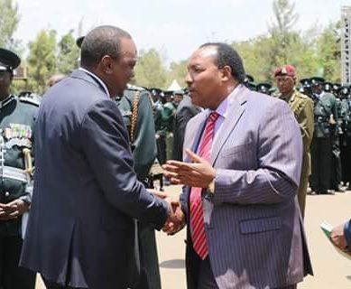 Waititu frantic efforts to reach Uhuru