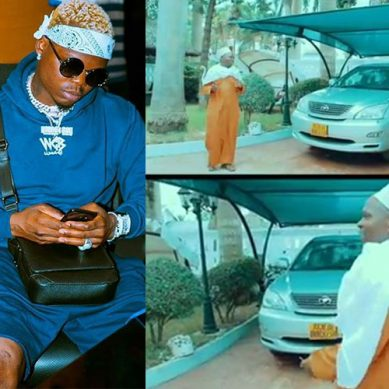 Harmonize buys his parents two brand new cars