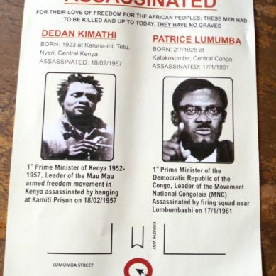 Field Marshal Dedan Kimathi /Patrice Lumumba memorial event banned in Nyeri