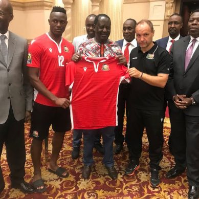 Raila spurs mixed reactions from KOT after Harambee stars visit