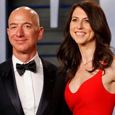3.83 trillion loss:Amazon founder Jeff Bezos,world's richest, divorces Mackenzie