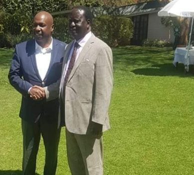 Plot to sneak Raila, Gideon into power