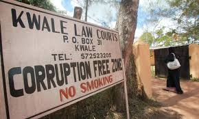 Kwale court clerk accused of graft
