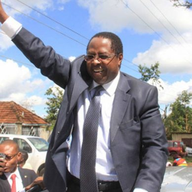 Who will succeed Wambora as governor?