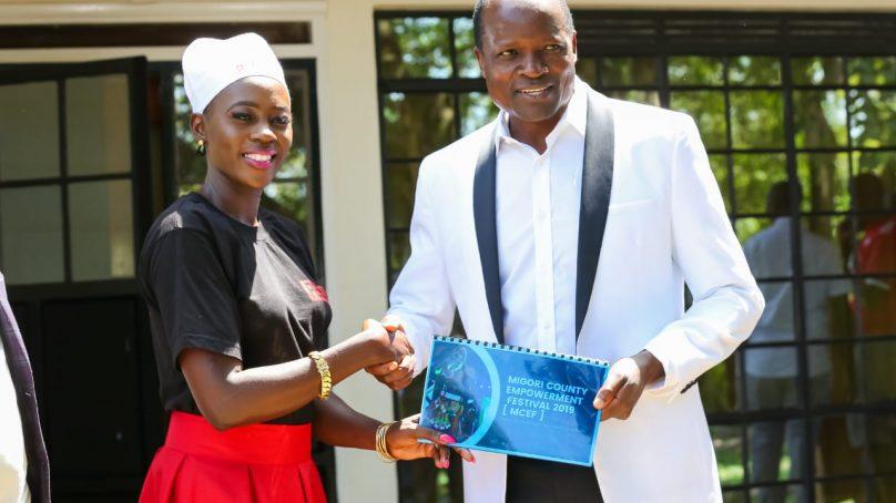 Governor Obado appoints Akothee