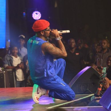 Diamond Platinumz rocks the Comedy Store show
