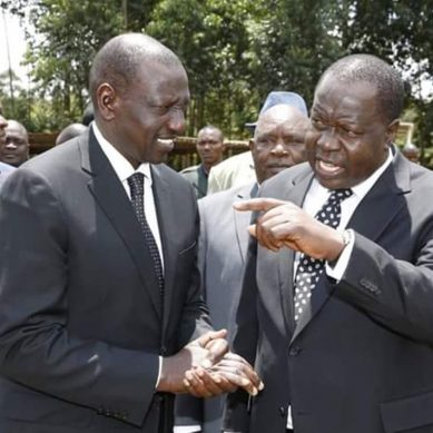 DP Ruto, Matiang'i jostles for Gusii votes