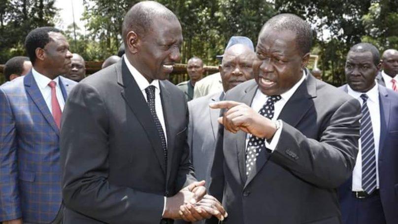 DP Ruto, Matiang'i jostles for Gusii votes