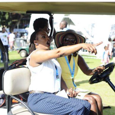 Uhuru Kenyatta's niece Nana having fun