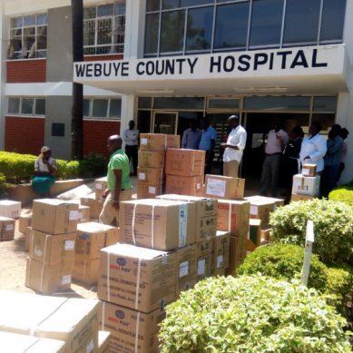 Strange events at Webuye hospital