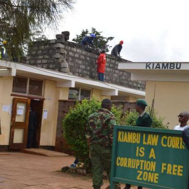 Female,male magistrates share one toilet at Kiambu law courts