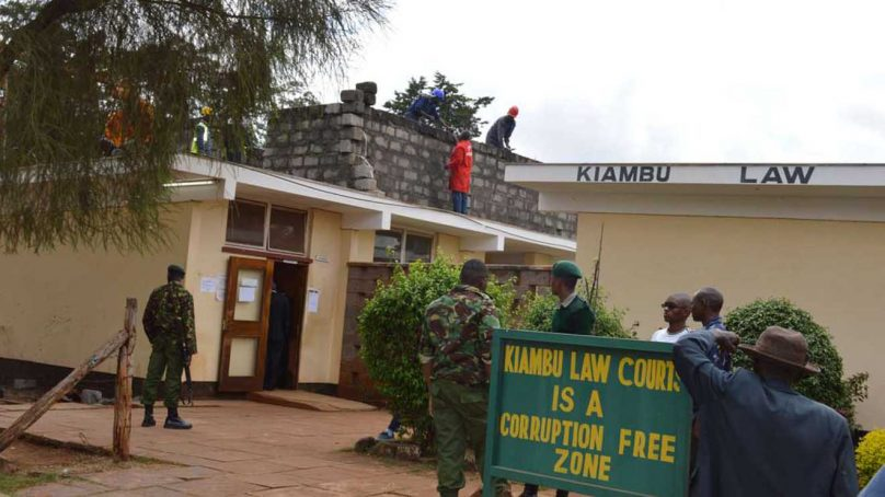 Female,male magistrates share one toilet at Kiambu law courts