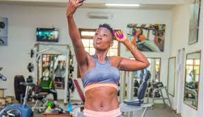 Akothee fitness body challenge(PHOTOS)