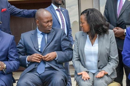 No end to Kinyanjui, Senator Kihika wars