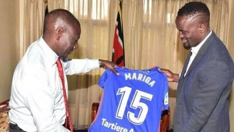 Mariga father against his candidacy in Kibra race