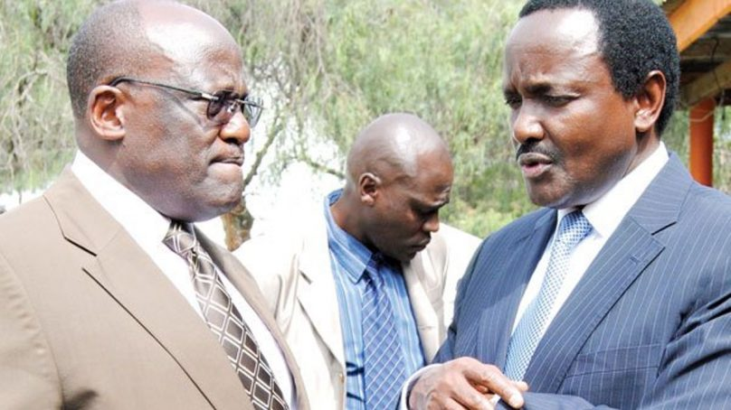 Muthama secretly forms party to check Kalonzo in Ukambani