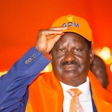 Names of ODM officials Raila wants sacked