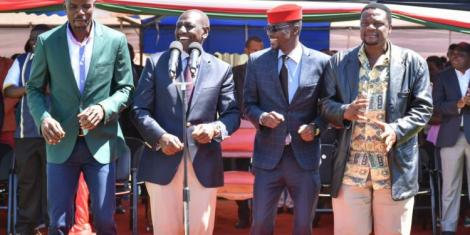 Kimilili MP Barasa, Waluke fight for Ruto campaign money