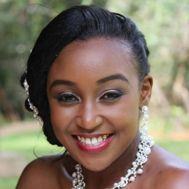 Exclusive Photos of Betty Kyalo, Boyfriend at Diani Beach on vacation