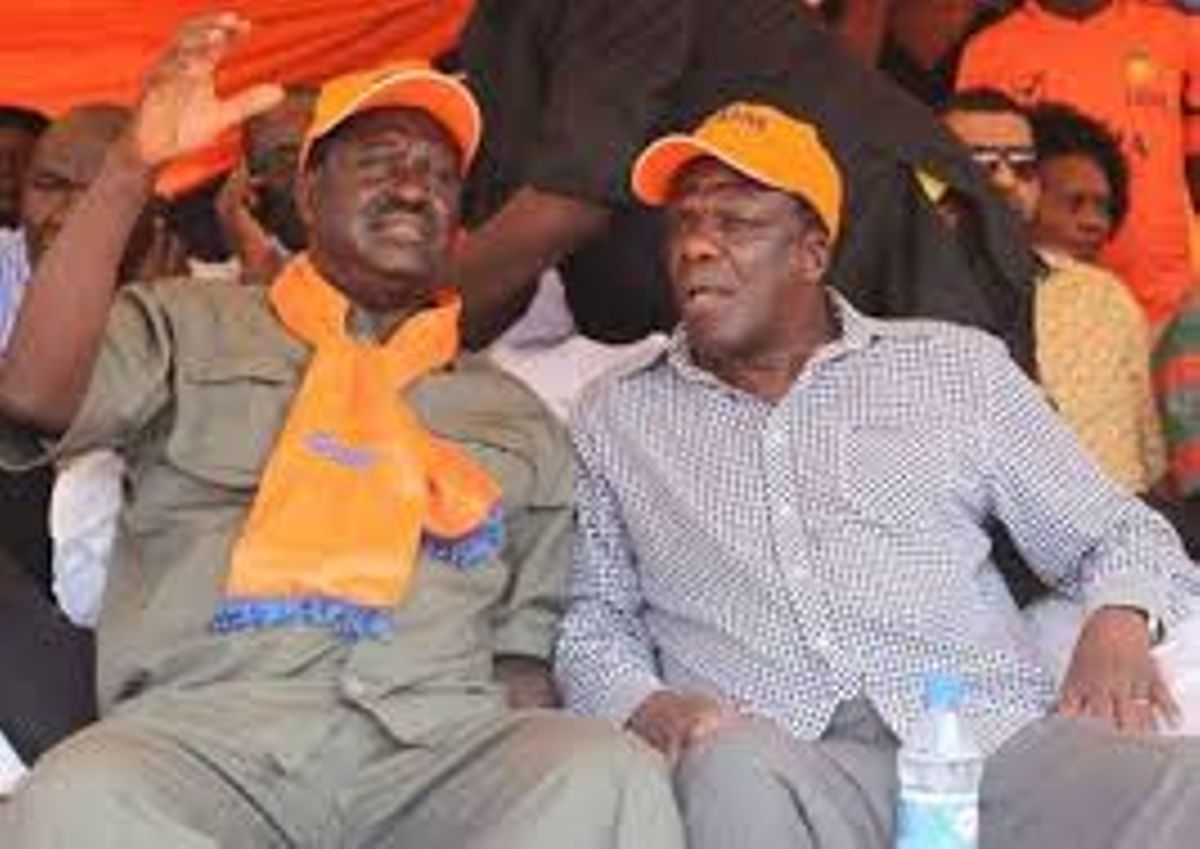 Raila now grooms Oparanya to bring down Mudavadi – Weekly Citizen