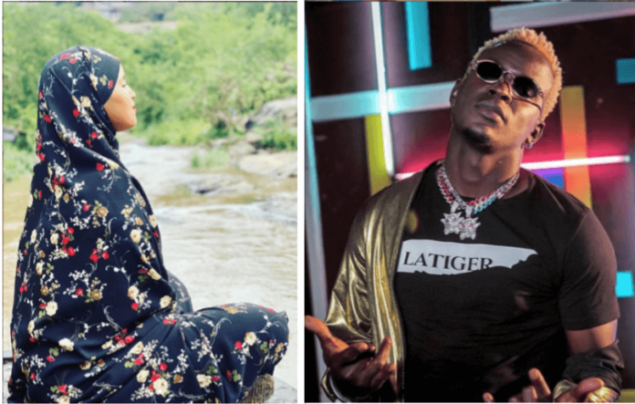 Leaked :Willy Paul exposed, rejected by Somali Beauty (screenshots)
