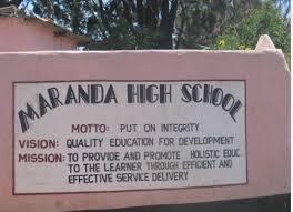 All is not well at Maranda School