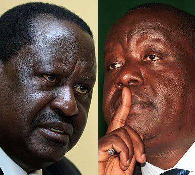 Raila, Matiang'i in secret talks