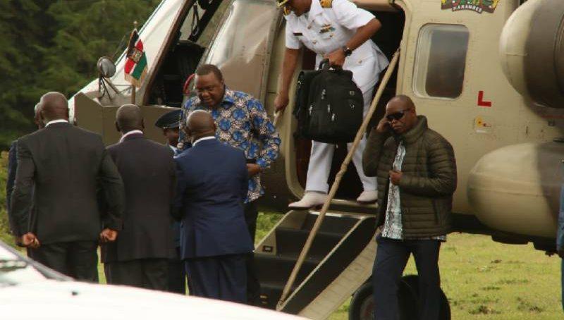 What Uhuru told Kikuyu leaders at Sagana Lodge