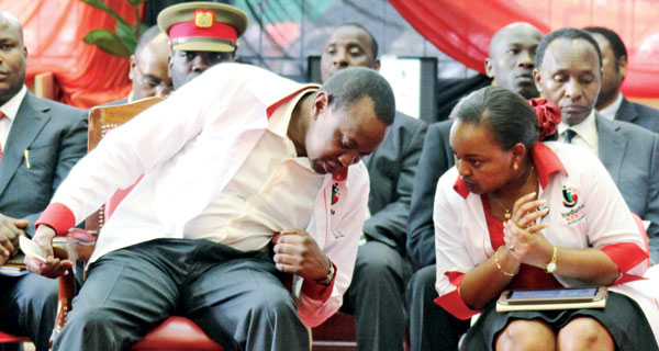 Revealed, Why Waiguru skipped Uhuru's meeting on Friday – Weekly Citizen