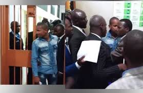 Dramatic rearrest of a journalist as Babu Owino's(VIDEO)