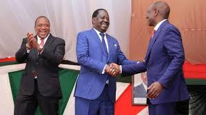 Uhuru fooling Ruto or Raila?