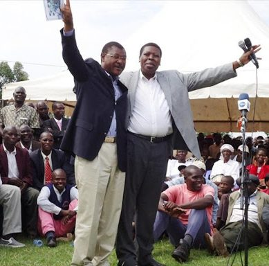CS Wamalwa Vs Wetang'ula and Sabaots factor