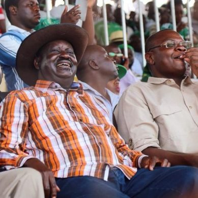 Is Raila grooming Otwoma to succeed Ojaamong as Busia Governor?