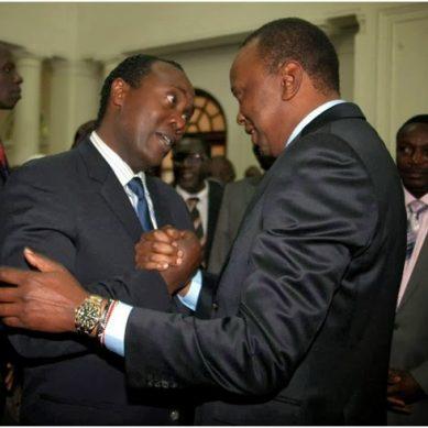 How Uhuru saved Jeff Koinange from auctioneers' hammer