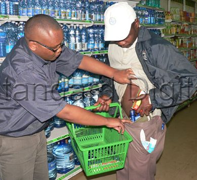 Drama as ex-MP's aide caught in supermarket theft